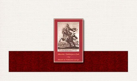 Albrecht z Valdštejna a Cheb