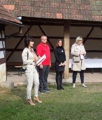 Muzeum Cheb, slavnostní předání stavby v Milíkově 5. září 2018 firmě Bolid M
