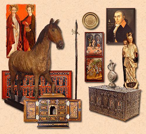 Obrazový průvodce expozicí a sbírkovými fondy
