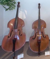 Strunal Luby - expozice muzea hudebních nástrojů