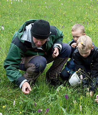 Za orchidejemi do parku v Mariánských Lázních